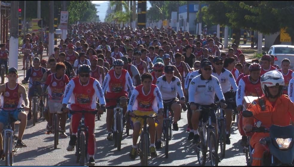 Evento é tradicional na cidade de Guajará (Foto: Júnior Freitas/GloboEsporte.com)