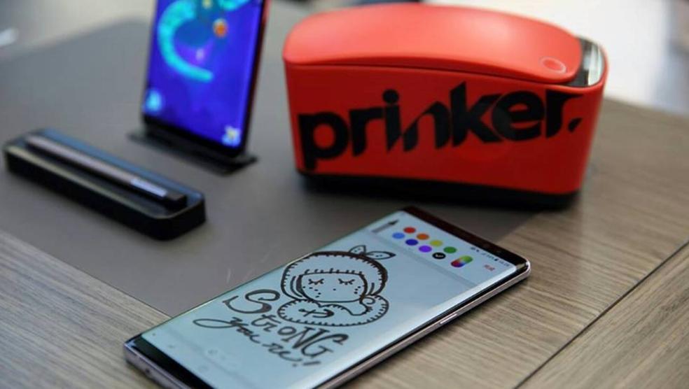 Prinker pode receber qualquer tatuagem a partir do aplicativo para smartphone (Foto: Divulgação/SketchOn)