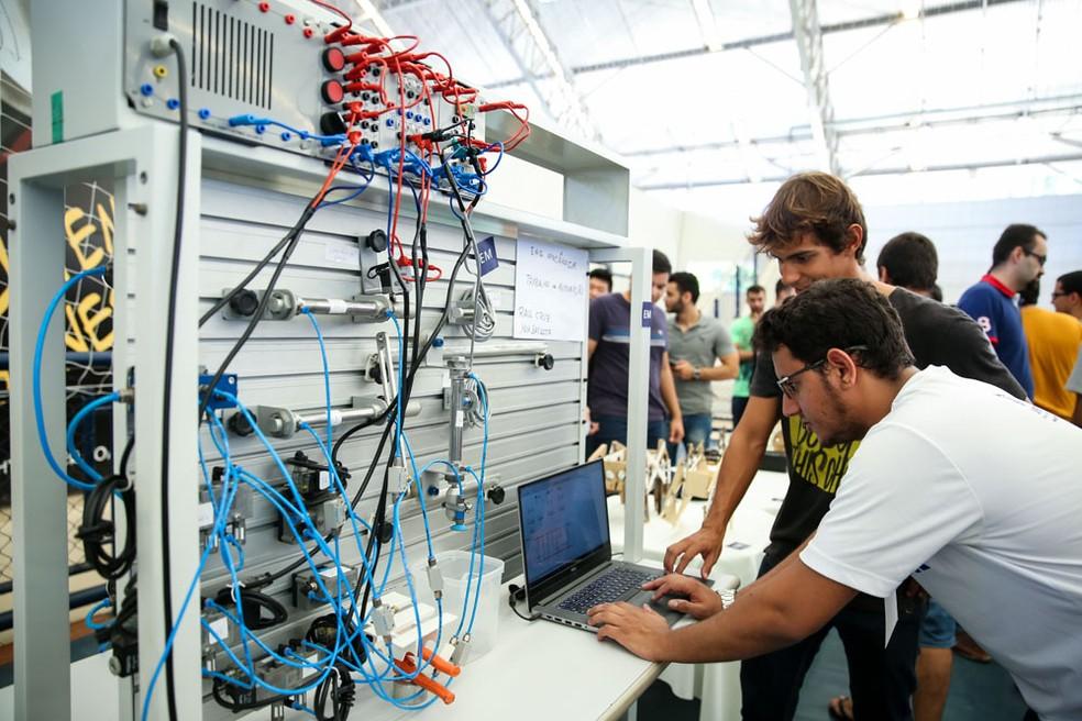 Soluções sustentáveis aliadas à tecnologia guiam o evento.  (Foto: Ares Soares/Unifor)