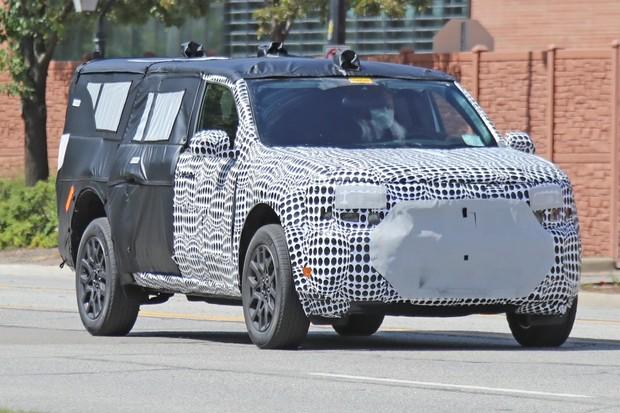 Frente indica algum parentesco com o Ford Bronco (Foto: Automedia)