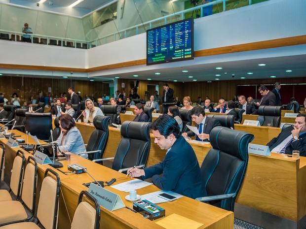 Plenário da Assembleia Legislativa do Maranhão (Foto: Kristiano Simas/ Agência Assembleia)