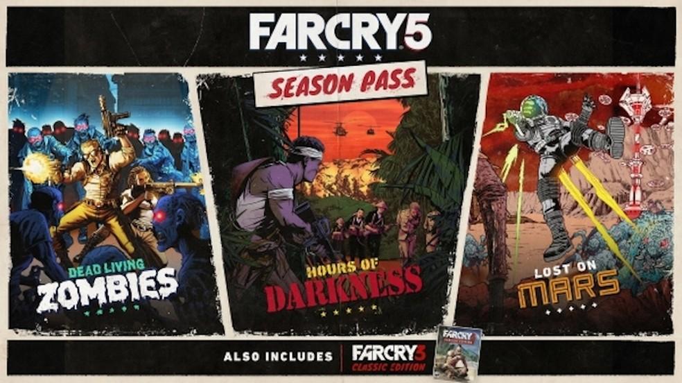 Far Cry 5 terá DLCs com zumbis, alienígenas e Far Cry 3 clássico (Foto: Divulgação/Ubisoft)