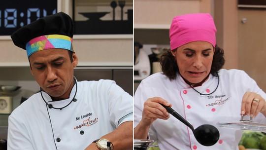 'Super Chef': MC Leozinho e Totia Meireles estão na Panela de Pressão