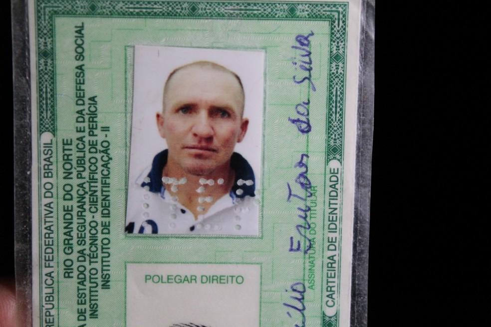 Maricélio Freitas da Silva, de 35 anos, foi assassinado a tiros na zona rural de Dix-Sept Rosado, no RN. — Foto: Marcelino Neto/O Câmera