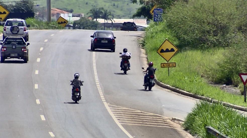 Número de mortes com motociclistas aumenta em relação a 2018 no Sul de Minas — Foto: Reprodução EPTV