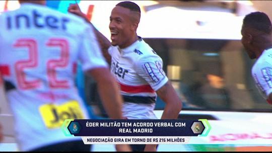 Éder Militão tem acordo verbal com Real Madrid, diz repórter