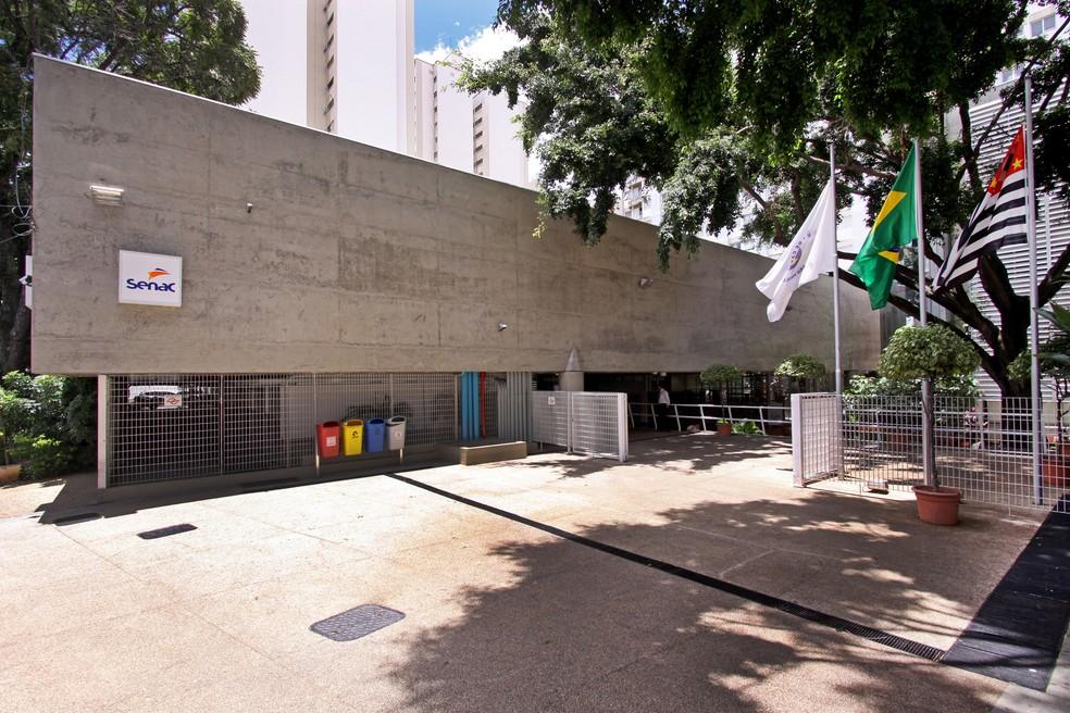 Fachada do Senac de Campinas (SP), que realiza programação do evento 'Casa Aberta' neste sábado (11). (Foto: Marcos Kulenkampff/Senac Campinas/Divulgação)