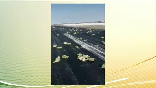 Avião despeja três toneladas de ouro e prata na Sibéria