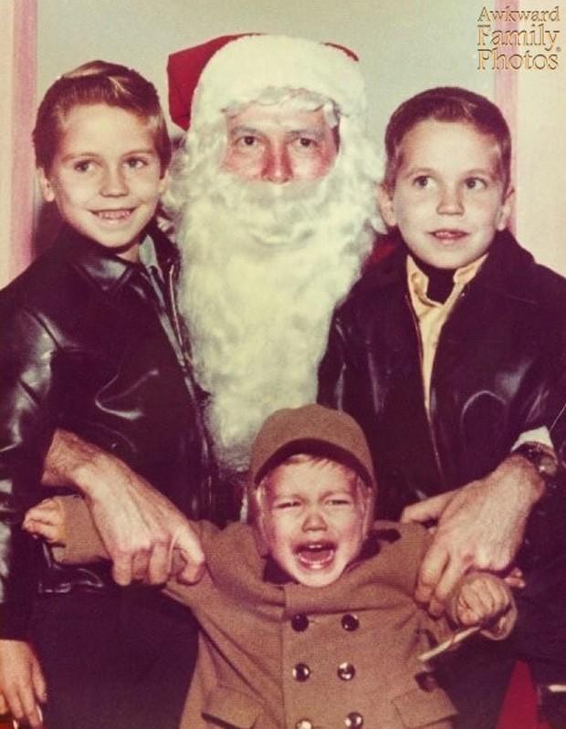 Site 'Awkward Family Photos' traz galeria com as fotos mais bizarras tiradas em família na época do Natal (Foto: Divulgação/Awkward Family Photos)