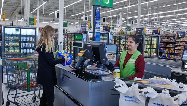 Nova loja do Walmart também é laboratório para testes de novas tecnologias (Foto: Divugação)