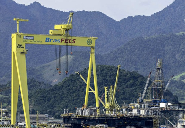 Empresa;BTG;Produção de sonda da Sete Brasil, um dos nós do BTG: foi um mau negócio, que  ainda oferece risco (Foto: Folhapress)