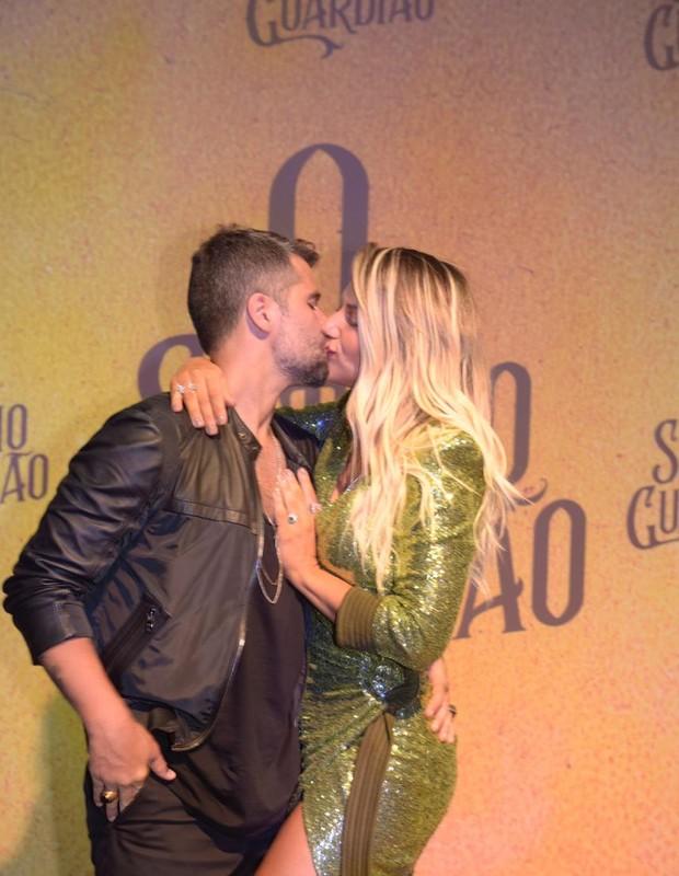 Bruno Galiasso e Giovanna Ewbank (Foto: QUEM)