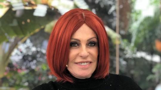 Ana Maria Braga surge com peruca ruiva no 'Mais Você': 'Acho que vou voltar com essa moda'