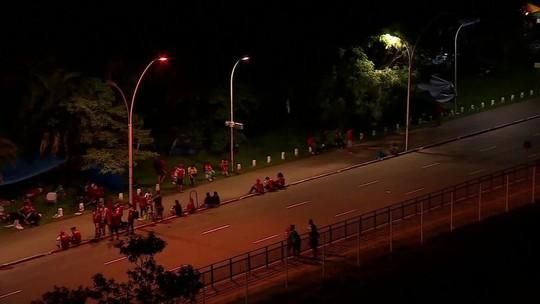 Porto Alegre tem forte esquema de segurança
