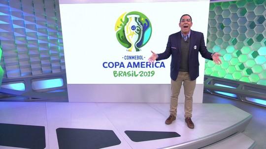 Soy Loco por Copa América: Adnet imita Galvão Bueno no intervalo de Brasil x Bolívia