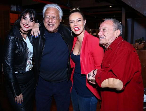 Alexandra Martins, Antônio Fagundes, Paolla Oliveira e Stênio Garcia (Foto: Roberto Filho/Brazil News)