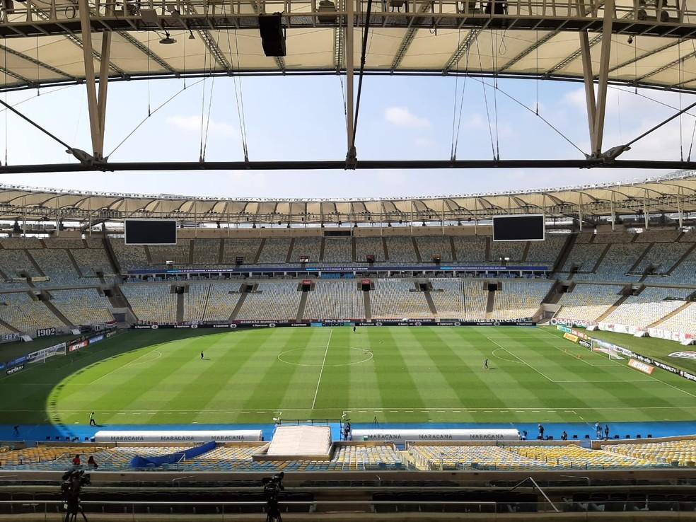 Maracanã será o palco das finais do Campeonato Carioca 2021 — Foto: Paula Carvalho