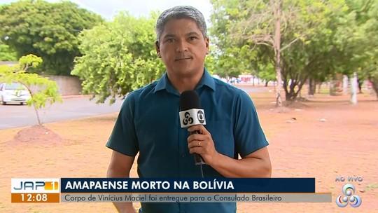 Corpo de amapaense morto na Bolívia foi entregue ao Consulado Brasileiro, diz imprensa boliviana