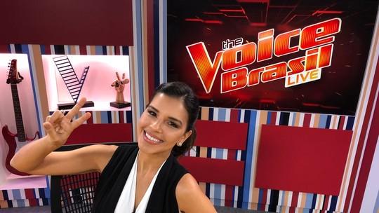 Mariana Rios dá spoilers de duas vozes das Audições do 'The Voice Brasil'