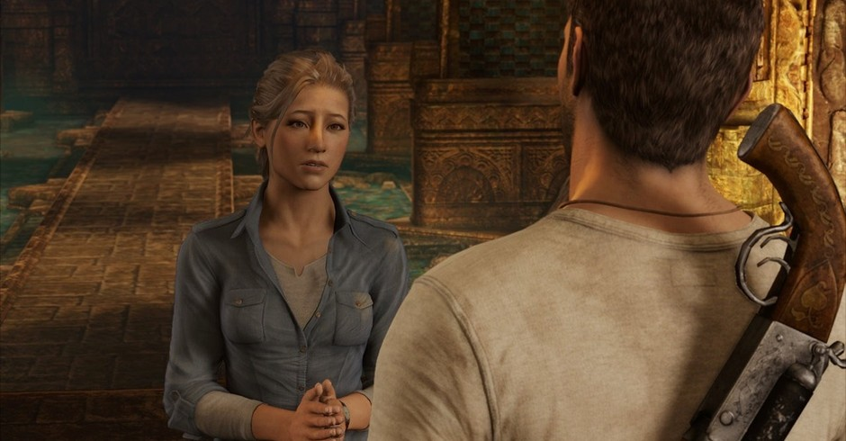 Cena do game Uncharted 3: Drake's Deception, um dos jogos da franquia em que Hennig trabalhou (Foto: Divulgação)