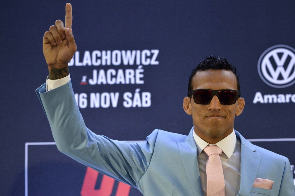 UFC São Paulo Charles Do Bronx  — Foto: Marcos Ribolli