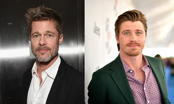 Brad Pitt e Garrett Hedlund (Foto: Getty Images)