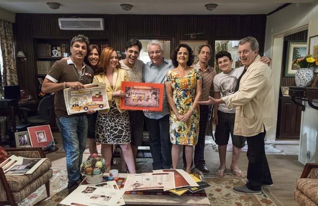 """O público se despediu de """"A grande família"""" com tristeza, mas sem que o seriado tão longevo tivesse caído no desgaste (Foto:  TV Globo/ Ellen Soares)"""