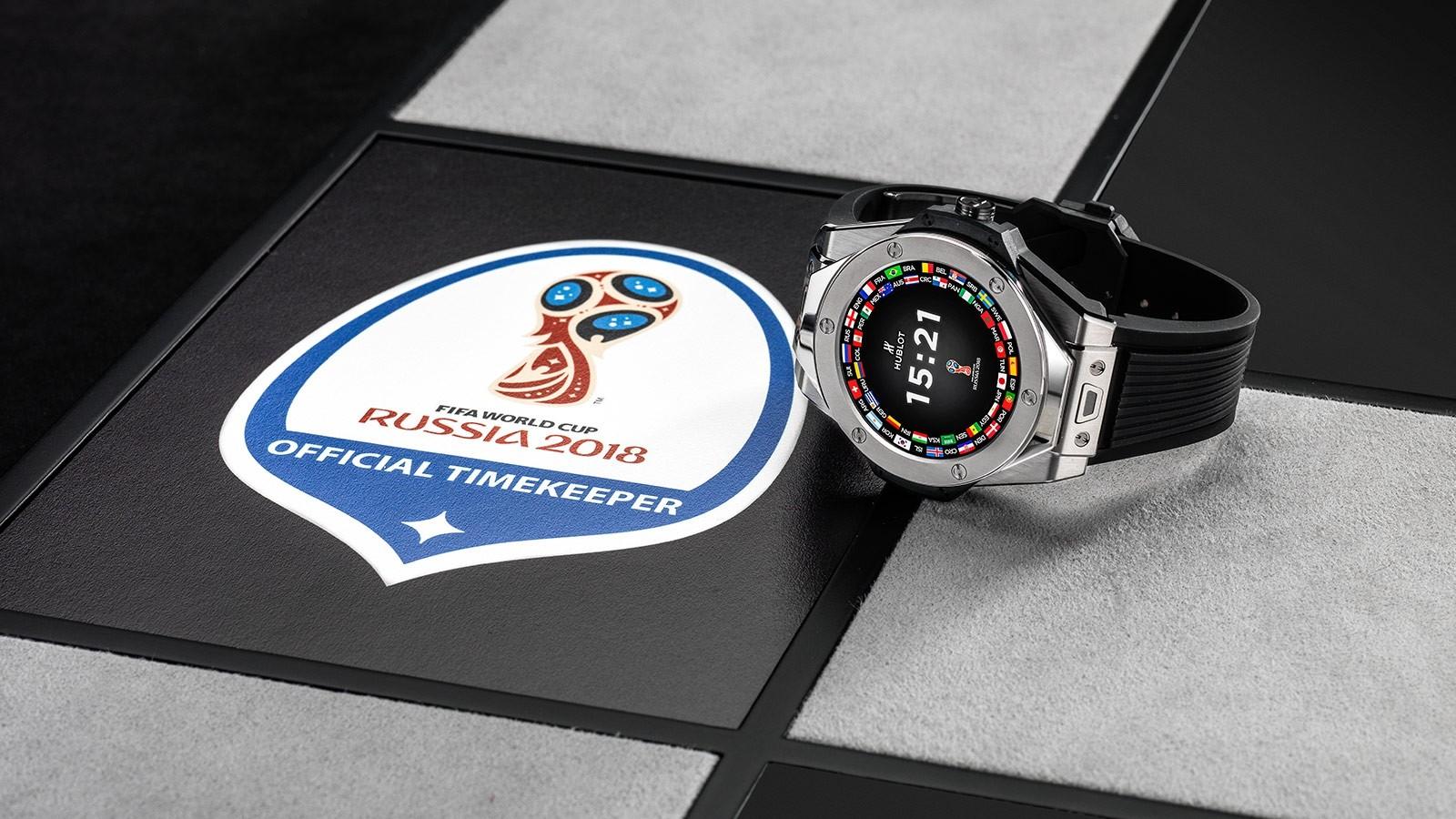 Relógio Hublot oficial da Copa do Mundo na Rússia, que será usado por ártbitros (Foto: Hublot/Divulgação)