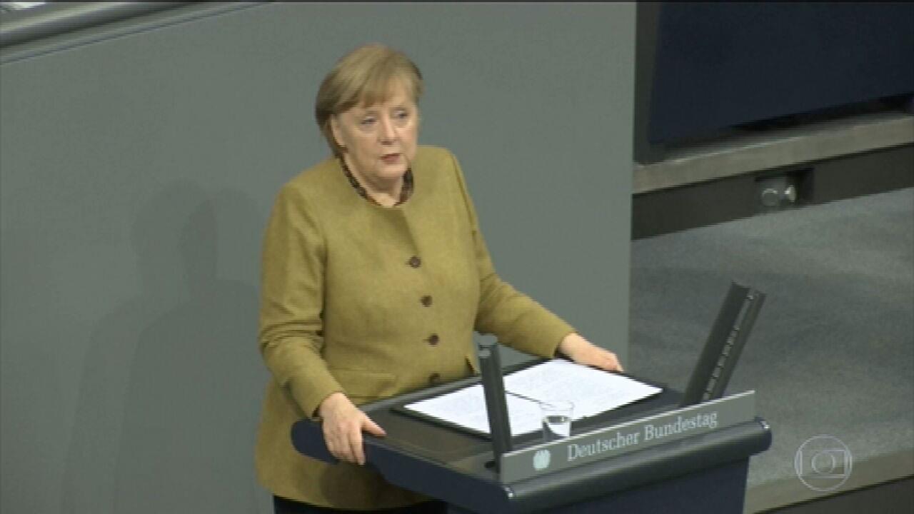 Alemanha prorroga lockdown até 7 de março