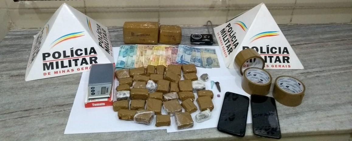Homem é detido com cerca de 30 tabletes de maconha em Viçosa - Notícias - Plantão Diário