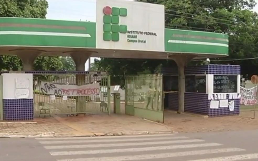 Estão abertas 45 vagas para professores do IF Goiano — Foto: Reprodução/TV Anhanguera