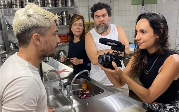 Maria Maya, Daniel Faria, Bel Cavalcanti e Claudio Gabriel (Foto: Divulgação)