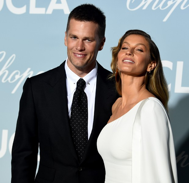 LOS ANGELES, CALIFORNIA - FEBRUARY 21: (L-R) Tom Brady and Gisele Bündchen attends the 2019 Hollywood For Science Gala at Private Residence on February 21, 2019 in Los Angeles, California. (Photo by Kevin Winter/Getty Images) (Foto: Getty Images)