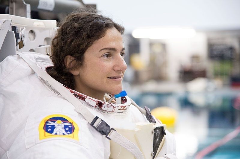 Jessica Meir (Foto: James Blair/NASA)