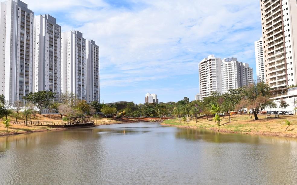 Parque Cascavel, Goiânia, Goiás — Foto: Paula Resende/ G1