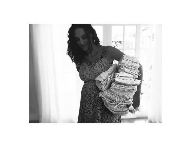 A atriz prepara o enxoval de Bella (Foto: Reprodução Instagram)