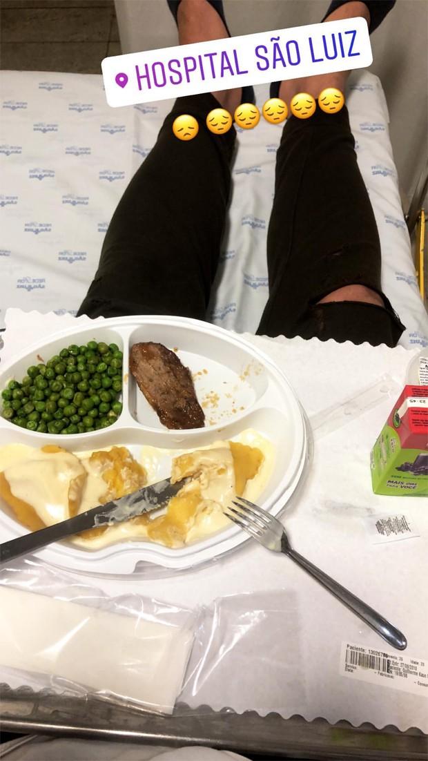MC Gui compartilha clique diretamente do hospital (Foto: Reprodução / Instagram)
