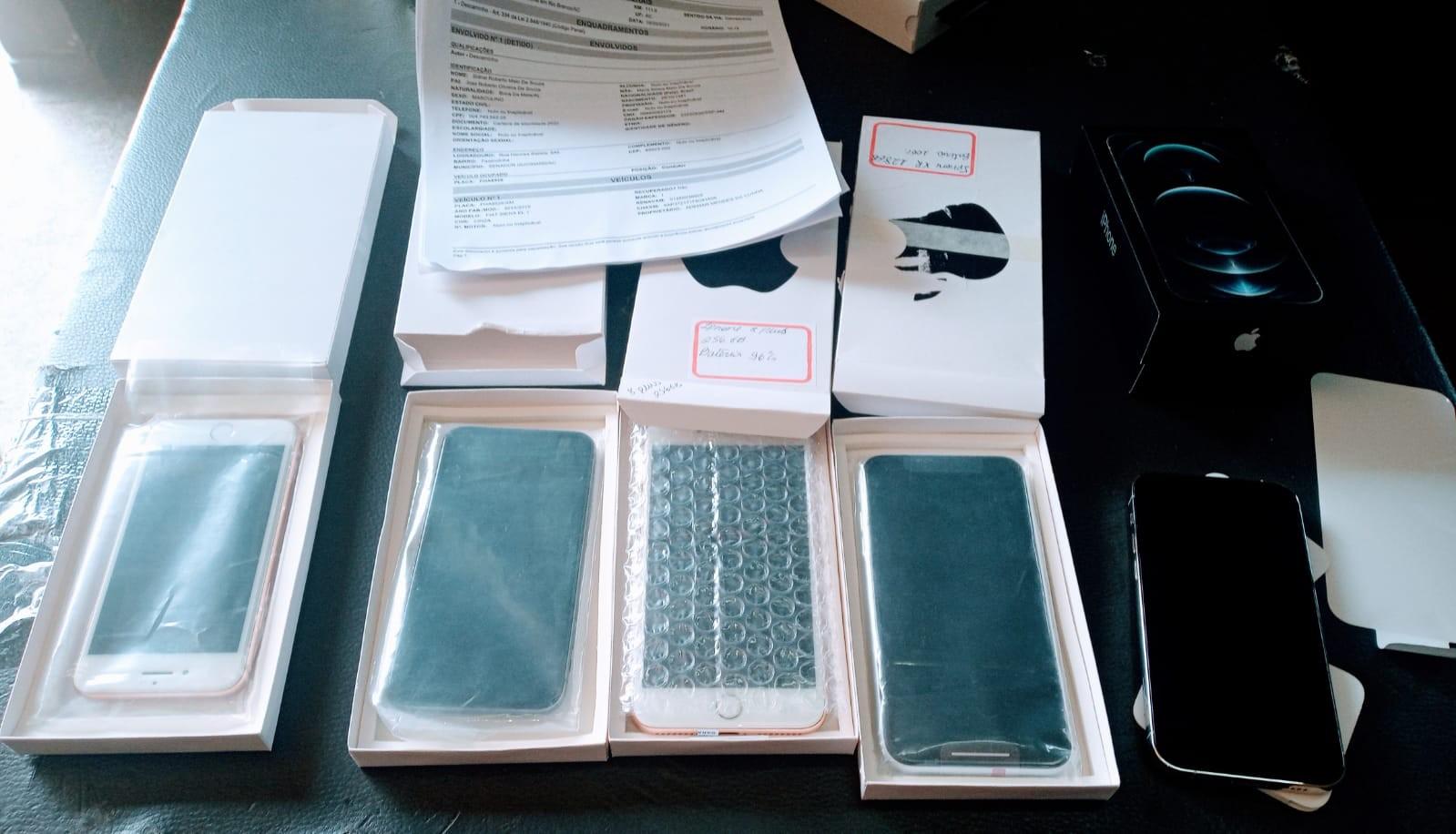 Taxista é detido com cinco aparelhos iPhone sem nota fiscal em rodovia do Acre