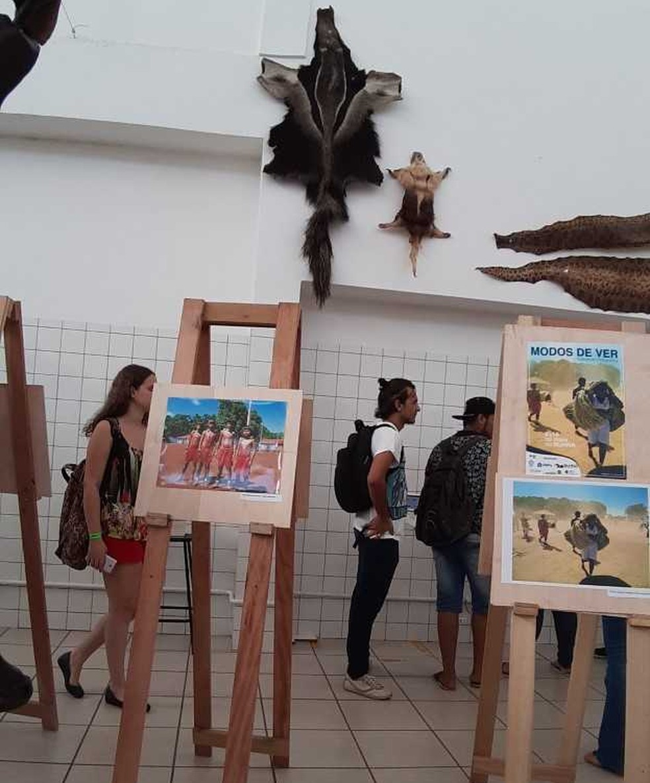 Exposição pode ser conferida gratuitamente — Foto: Viviane Sales/Arquivo pessoal