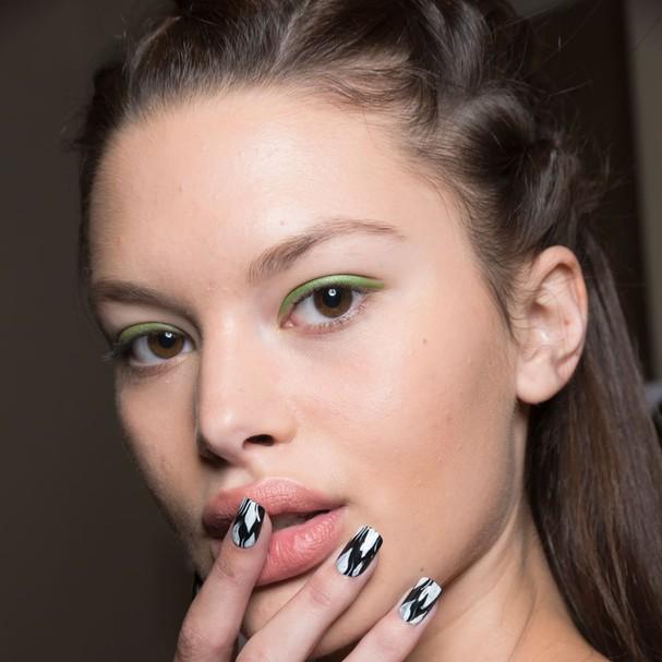 Nail Art na New York Fashion Week (Foto: Imaxtree e Cortesia )