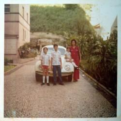 Fuscão 1500 da familia Koifman, 1971