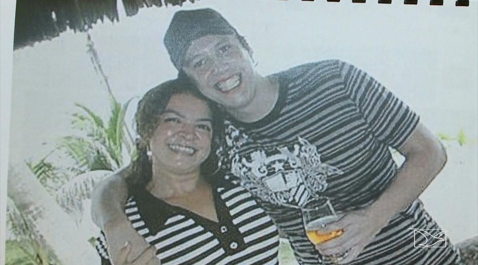 Joel Bastiaens e Sandra Maria foram assassinados a tiros em uma casa no bairro Araçagy, em São Luís — Foto: Reprodução/TV Mirante