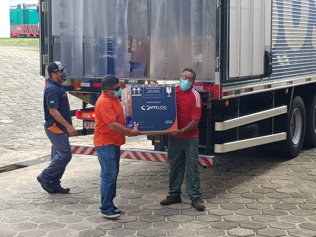 Maranhão recebe novo lote com mais de 31 mil doses da vacina Pfizer