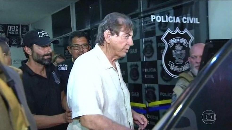 João de Deus está preso em Goiás — Foto: Reprodução/JN