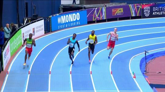 Atletas invadem raia e são eliminados nos 400m masculino do Mundial Indoor de Atletismo