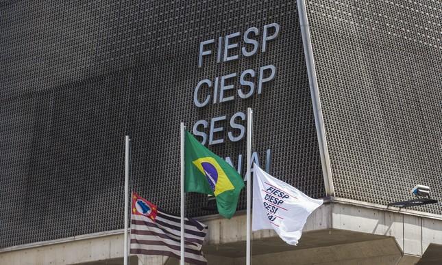 Edifício da Fiesp em São Paulo