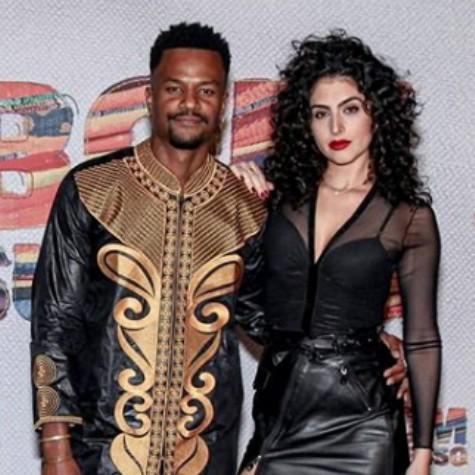 David Junior e Yasmin Garcez (Foto: Reprodução)