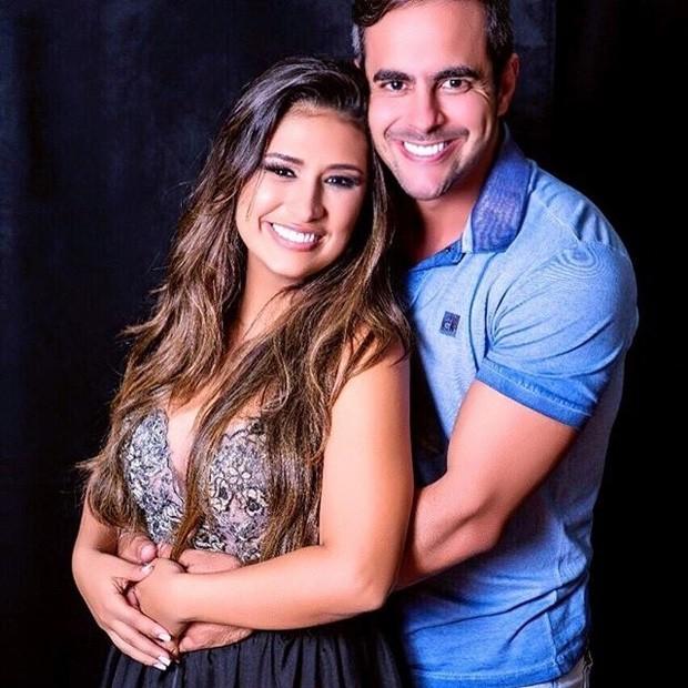 Simone e marido (Foto: Reprodução)