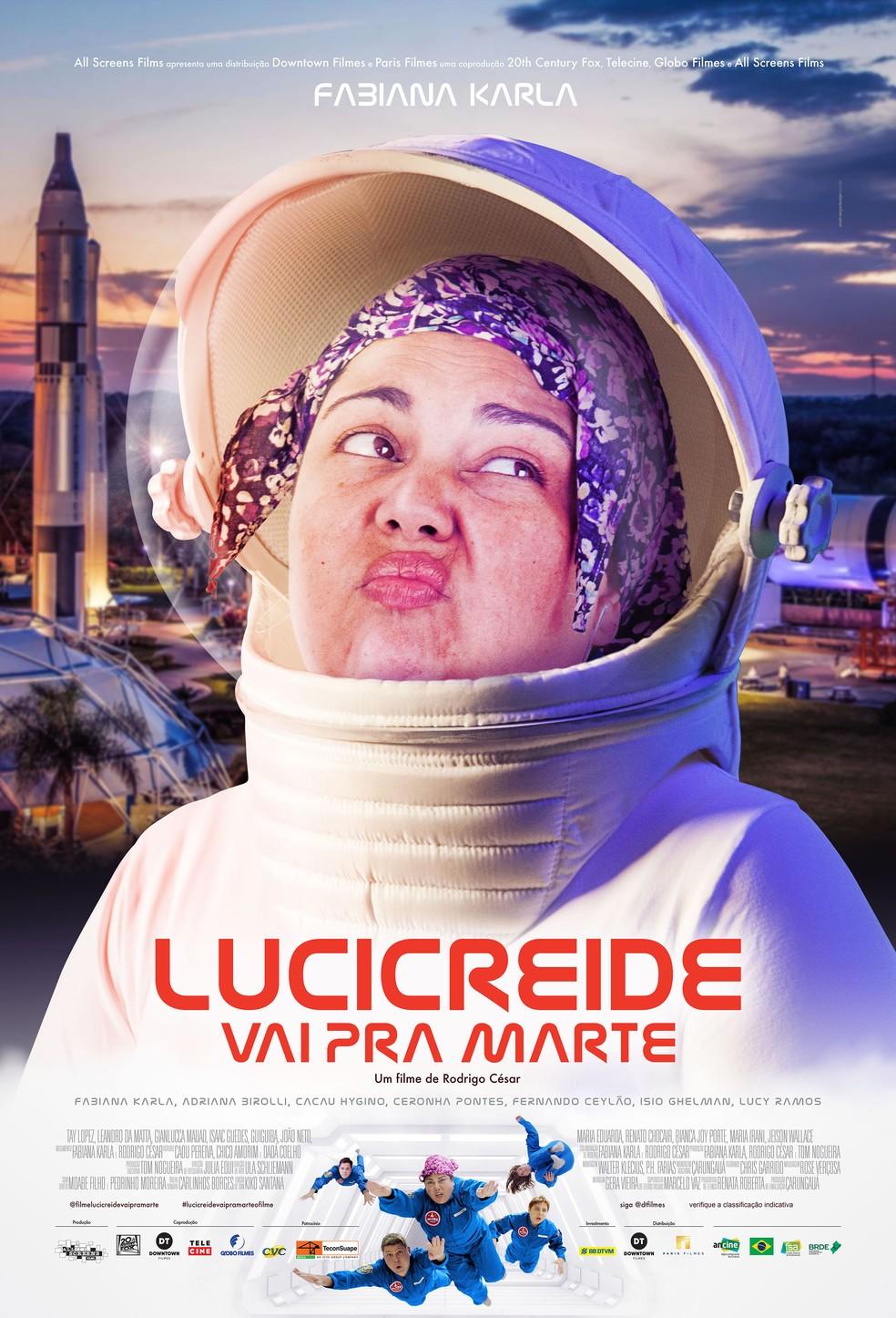 Fabiana Karla estrela comédia 'Lucicreide Vai Pra Marte' filmada na Nasa;  confira o trailer | Famosos | Gshow