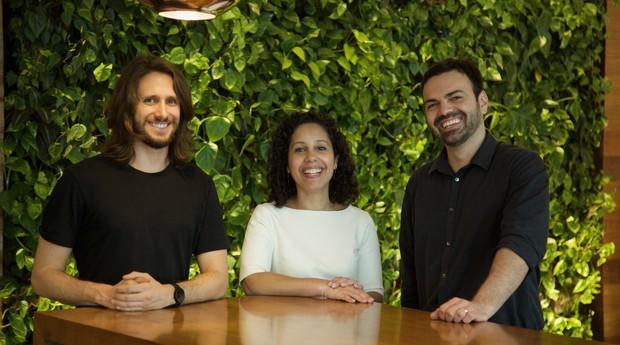 Bruno Cantarim, Fernanda Doria e Rodrigo Rodrigues, do Google (Foto: Divulgação)